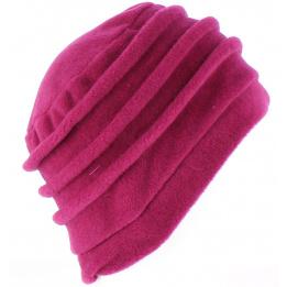 Bonnet Toque Polaire Jacobins Framboise- TRACLET