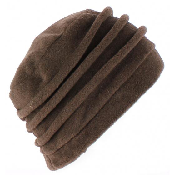 Jacobins Brown Fleece Hat - TRACLET