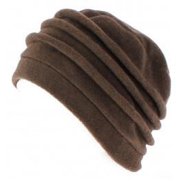 Bonnet Toque Polaire Jacobins Marron - TRACLET
