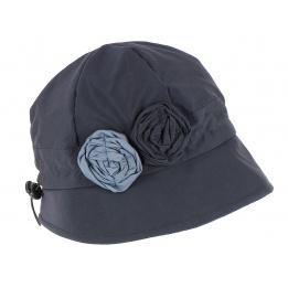Chapeau Cloche de Pluie Erika Marine- Traclet