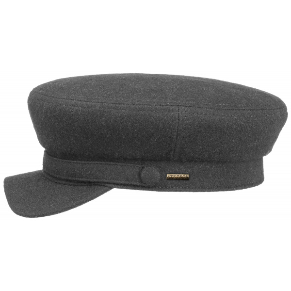 Casquette Marin Riders Laine Vierge Anthracite- Stetson