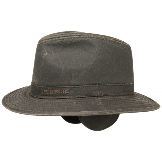 Vagabond hat with earflaps - Stetson