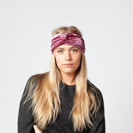 Easy Headband Velvet Velvet Headband Old Pink Barts
