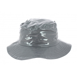 Hat Bob Raincoat Anael Grey - Traclet