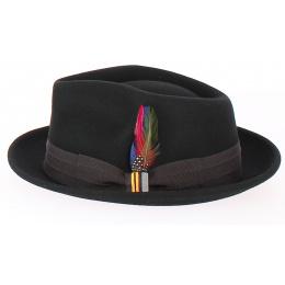 Valema Player Felt Hat Black - Stetson