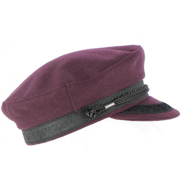 Marin d'Elbeuf Wool Cap - Traclet