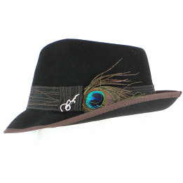 Pork Pie Hat - CLARK NERO