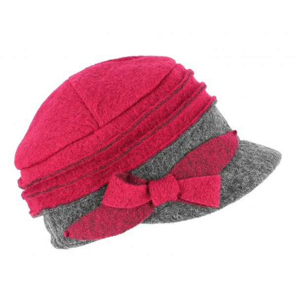 latest discount genuine shoes best sale Casquette Gavroche Alessia Laine Rouge - TRACLET