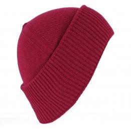 Bonnet Cousteau laine Rouge - Traclet