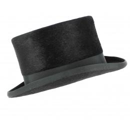 Chapeau Haut de Forme Mélusine Noir - Fléchet