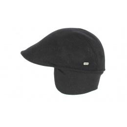 Casquette Polo cache oreille Noir - Crambes