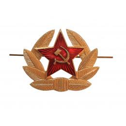Insigne de Cocarde étoile rouge soviétique