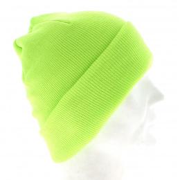 Bonnet Jaune - bonnet  Fluo - bonnet solidaire