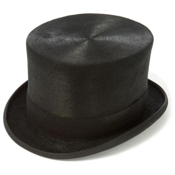 Chapeau Haut de Forme Mélusine Noir - christys' london