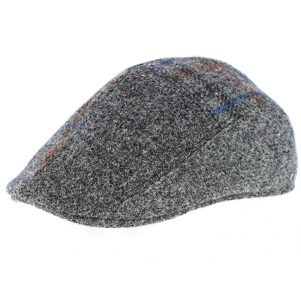 Ascot cap in Harris Tweed Wool - CRAMBES