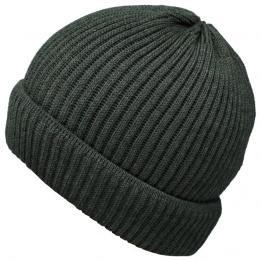 Bonnet en Tricot Ebern Anthracite- Traclet