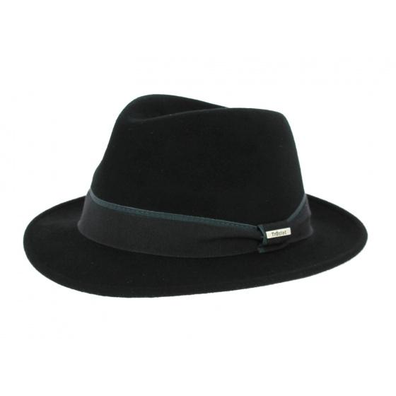 Chapeau Fedora Feutre Noir- Traclet