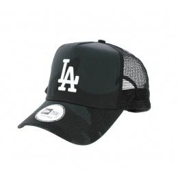 Casquette Baseball LA Camo Noire- New Era