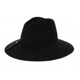 Chapeau Cabernet Noir Feutre Laine- Fléchet