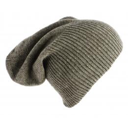 Bonnet Cachemire Classique Taupe-Traclet