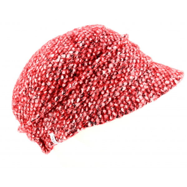 Casquette Gavroche Walk Chinée Rouge- Traclet