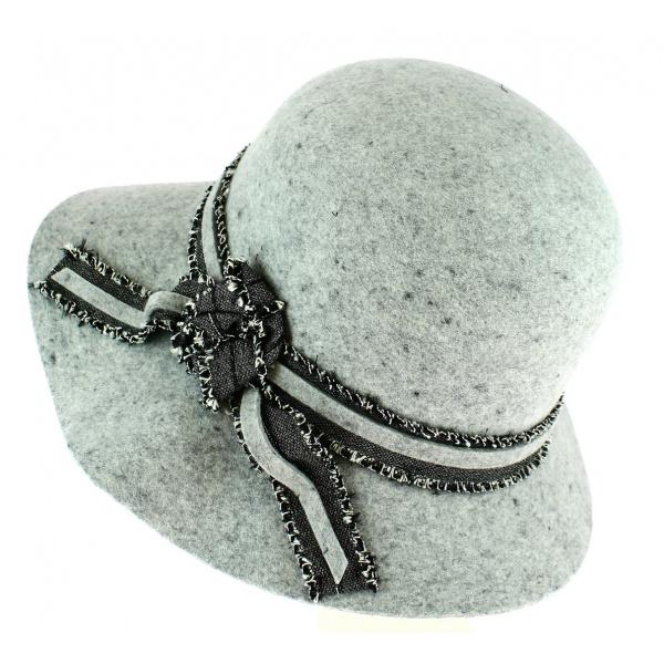 Capeline Feutre laine Noir - Traclet