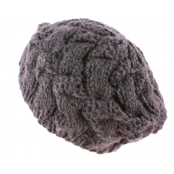 Beret tricot