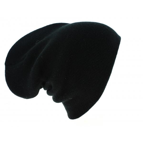 7bebcd7e03f Bonnet Long Acrylique Noir - Beechfield