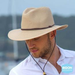 Chapeau Traveller Outback Fibres Naturelles - Rigon Headwear