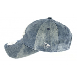 Casquette Tie Dye 9forty losd - Bleu jean Los Angeles Dodgers Fit 9FORTY