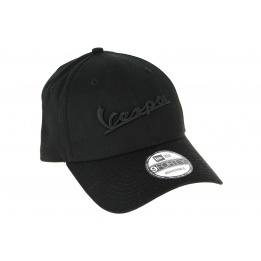 Strapback Vespa Cotton Black Cap - New Era