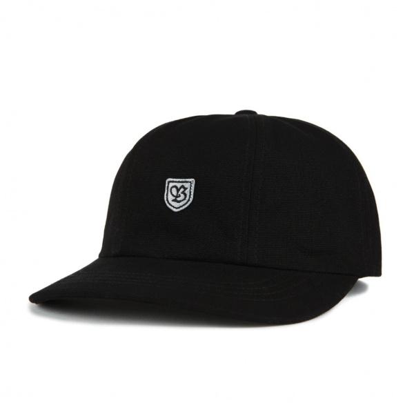 Casquette B-Shield III Coton Noir & Gris- Brixton
