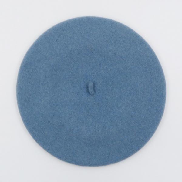 Béret Français - béret  Bleu Crépuscule