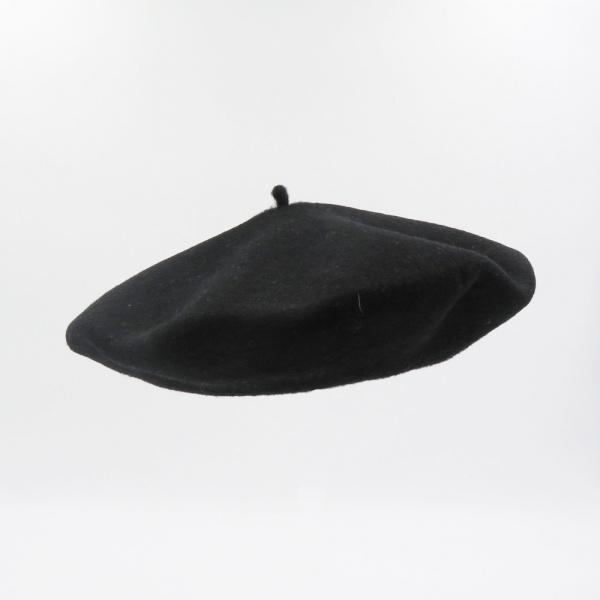Beret Francais - béret Noir
