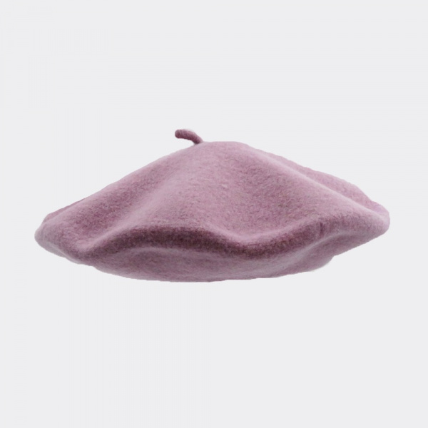 The Classic Purple French Beret- Le Béret Français