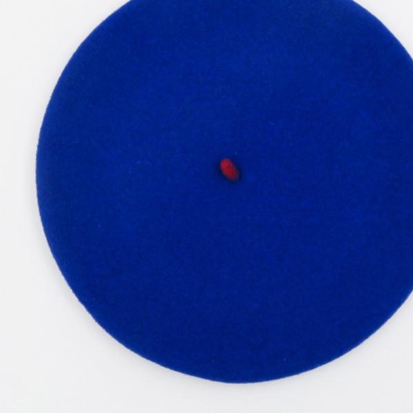 Beret le beret Francais bleu royal