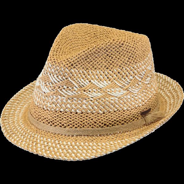 bc6c52d6123f9 Chapeau Paille Papier Cinnamon Marron Clair - Barts - Chapeau Traclet