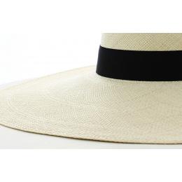 Grande capeline Panama naturel