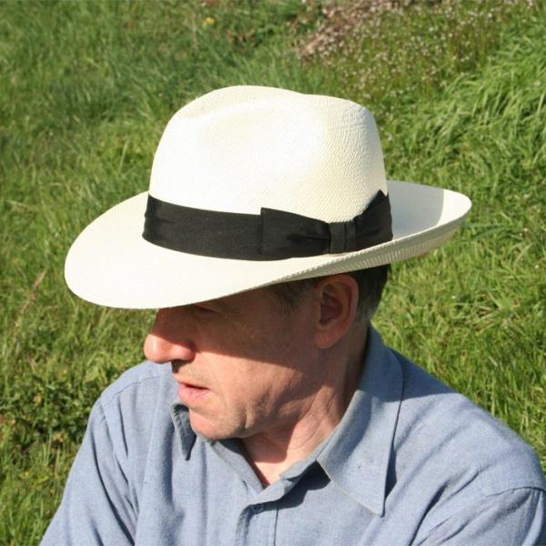 Fedora Panama Trieste Hat - Traclet