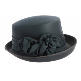 Chapeau Breton femme Tissu Noir
