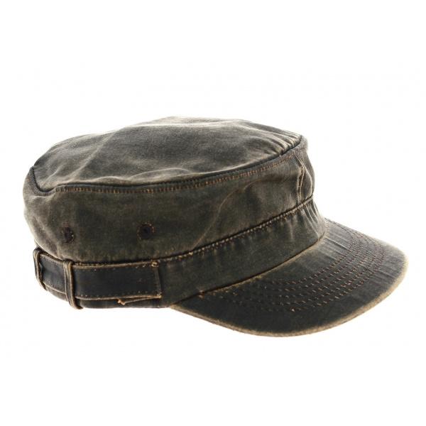 Casquette Army Marron- Dorfman Pacific Co