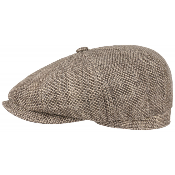 Casquette Hatteras ChabyChic Toyo Grise - Stetson