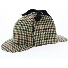 Casquette sherlock Laine - Traclet