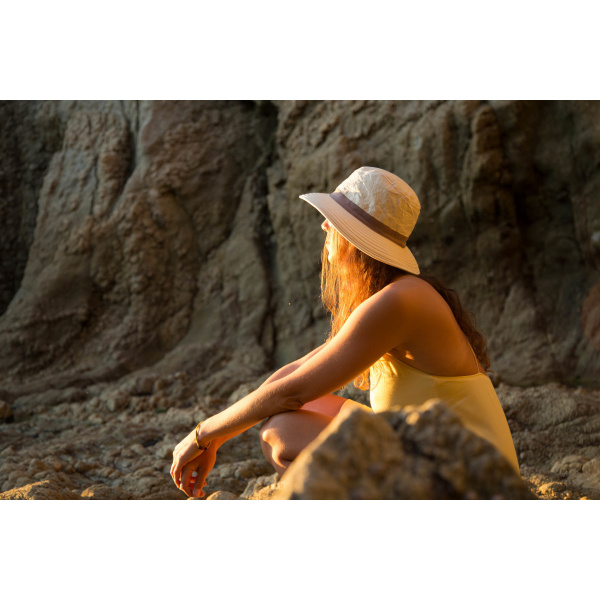 Chapeau Traveller Savane Haute Protection Beige - Soway