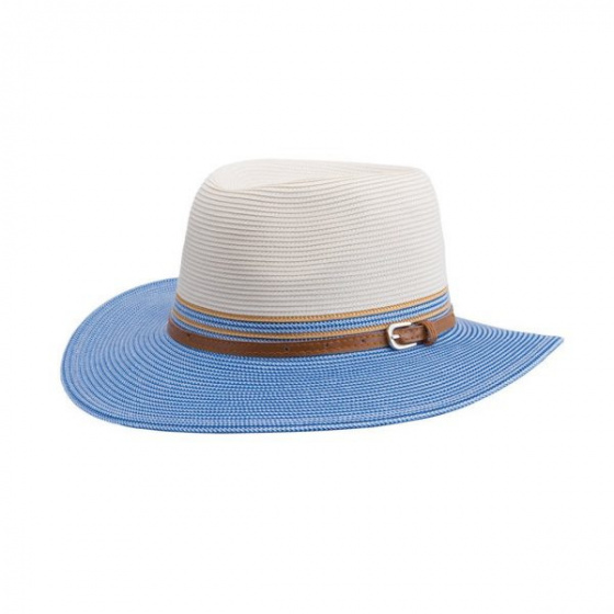 Chapeau Bella ivoire bleu
