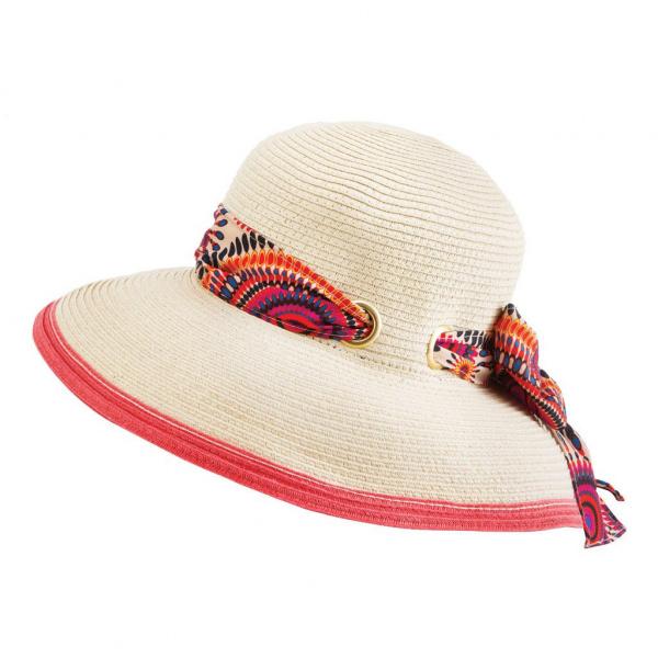 Chapeau Hepburn ivoire