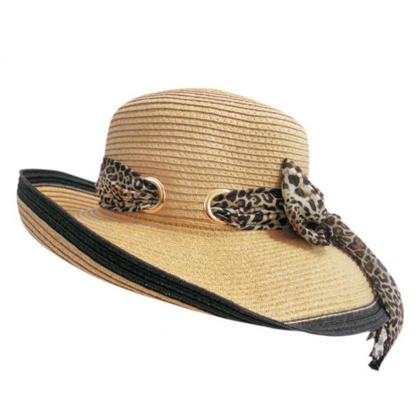 Chapeau Hepburn naturel
