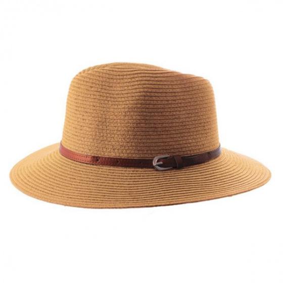 Chapeau Traveller Kristy Camel- Emthunzini Hats