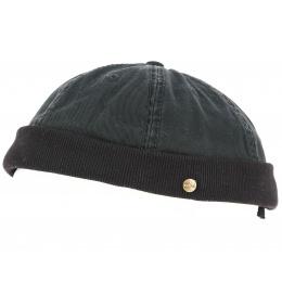 Bonnet Docker Redon Coton Noir - Traclet