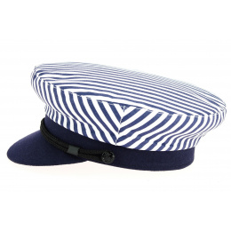 Casquette Marin Arzon Rayée Bleu & Blanc-Traclet